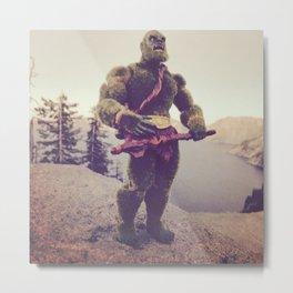 Moss Man at Crater Lake Metal Print