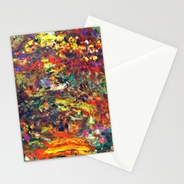 """Claude Monet """"Path under the Rose Trellises, Giverny"""", 1922 Stationery Cards"""