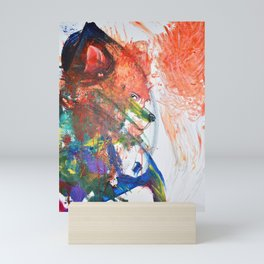 The Wily Fox | A Collaboration with my Toddler Mini Art Print