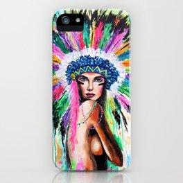 Lena iPhone Case