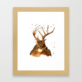 Beautiful Blitzen Framed Art Print