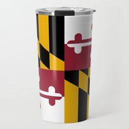State flag of Flag Maryland Travel Mug