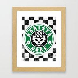 Barista Core Poster Framed Art Print