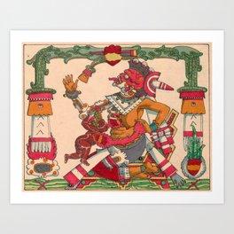 Chichi Mictectacihuatl Art Print