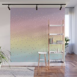 Cute confetti dots Wall Mural