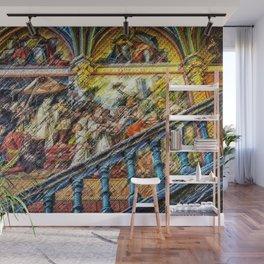 The Ancestors Mid-Evil Landscape Painting by Jeanpaul Ferro Wall Mural