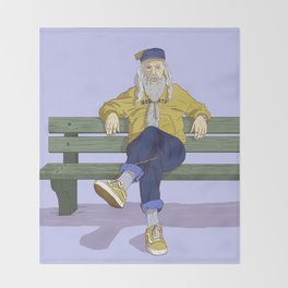 Albus Dumbledore Throw Blanket