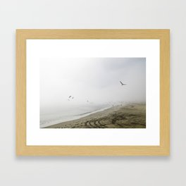 Santa Barabara Framed Art Print
