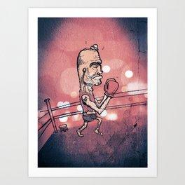 The Boxer Art Print