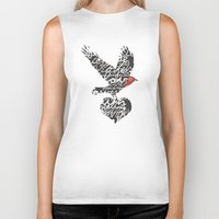 spiritual Biker Tanks featuring Spiritual Gifts by ecclesiahouston