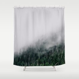 Misty Great Smoky National Park  Shower Curtain