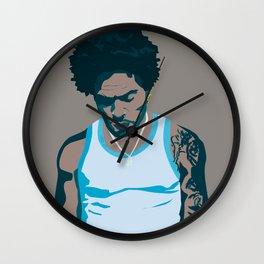 Lenny Kravitz - Portrait III Wall Clock
