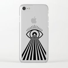 Laser Eye Clear iPhone Case