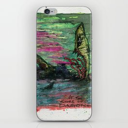 At The Shore of Dagon iPhone Skin