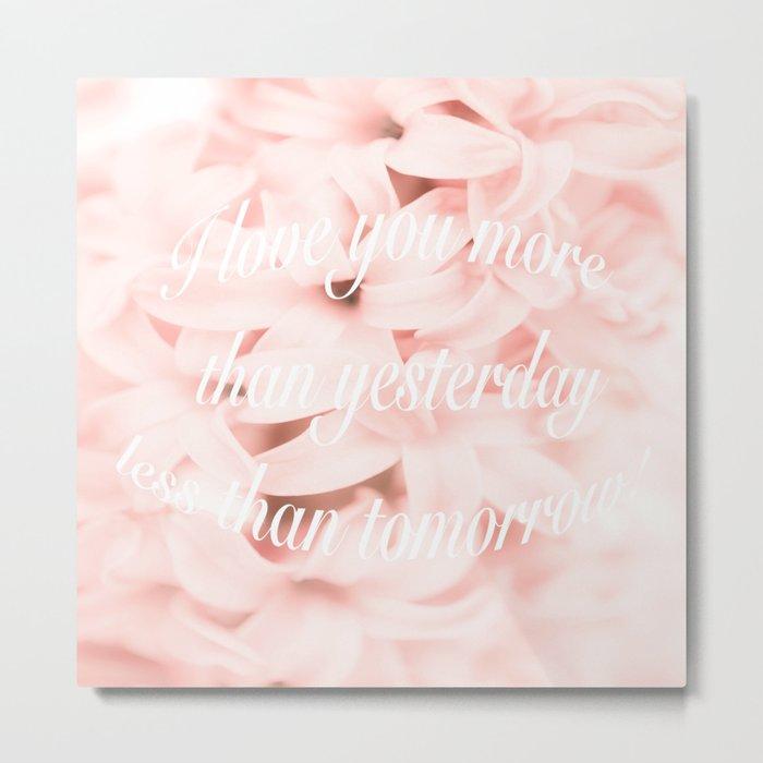 Be my Valentine... Metal Print