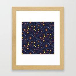Solar Eclipse ~ Mystical Framed Art Print