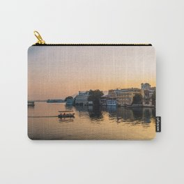 Sunset of Pichola lake in Udaipur Carry-All Pouch
