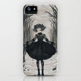 Dark Little Season iPhone Case