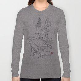 nuke girl Long Sleeve T-shirt