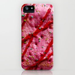 Pink Poptart iPhone Case