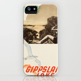Vintage poster - Australia iPhone Case