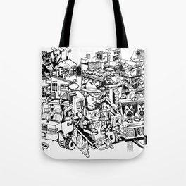 Sketchbook Composite - 1 Tote Bag