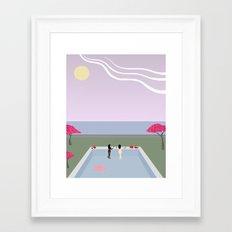 Lumière Ensemble Framed Art Print