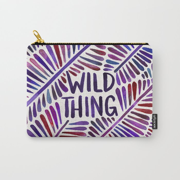 Wild Thing – Indigo Palette Carry-All Pouch