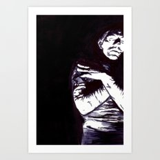 The Mummy Art Print
