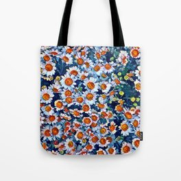 chrydsanthemum Tote Bag