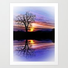 The Tree Of Reflections Art Print