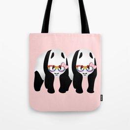 Lesbian  Gay Pride Pandas Tote Bag