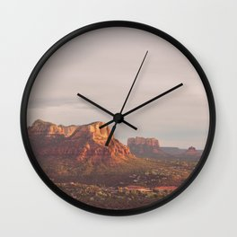 Sedona Arizona print. Vortex No. 3 Wall Clock