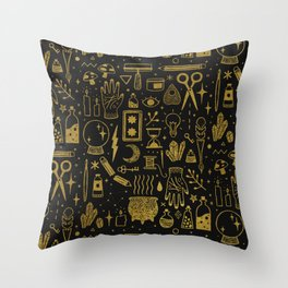 Make Magic Throw Pillow