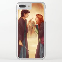 """""""I'd Just As Soon Kiss The Giant Squid!"""" Clear iPhone Case"""