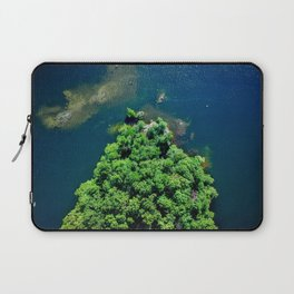 Archipelago Island - Aerial Photography Laptop Sleeve