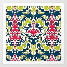Turkish Vines - Liberty colorway Art Print