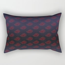 Akatsuki Clouds Rectangular Pillow