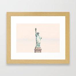 ArtWork New York Statue Liberty USA Painting Framed Art Print