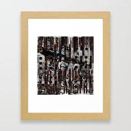 Reichstag Signals Framed Art Print