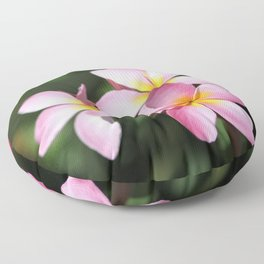 Hawaiian Flower Floor Pillow
