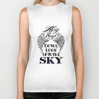 larry stylinson Biker Tanks featuring Hey Angel (Larry Stylinson) by Arabella