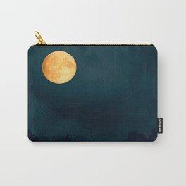 Full Moon Shines Overnight #decor #society6 #buyart #homedecor Carry-All Pouch
