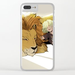 Yuri and Lion Clear iPhone Case