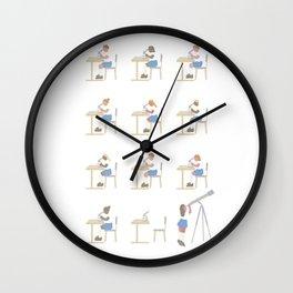 MacroMicro Wall Clock