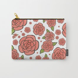 Rosey Posey Roses Carry-All Pouch