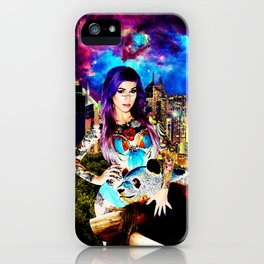 Lisa Frank Beyond Thunderdome iPhone Case