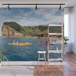 Kayaking in Azores Wall Mural