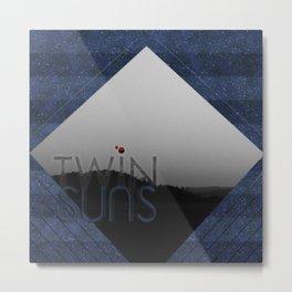 Twin Suns Metal Print