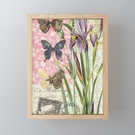 Lilium Wild Flower Framed Mini Art Print